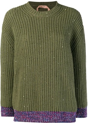 No.21 chunky knit jumper