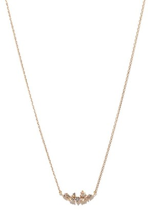 Mizuki Diamond & 14kt Gold Necklace - Gold