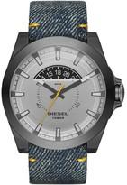 Diesel Arges Denim Silver Quartz Analog Men's Watch DZ1689