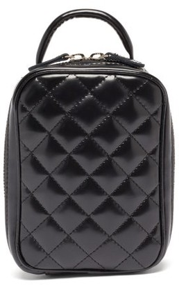 Junya Watanabe Quilted Faux-leather Bag - Black