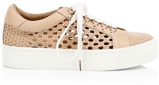 Joie Handan Woven Platform Sneakers