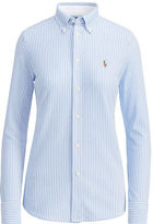 Polo Ralph Lauren Striped Knit Oxford Shirt