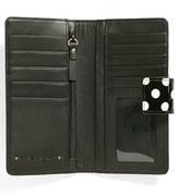 Halogen 'Victoria - Dot' Patent Leather Wallet