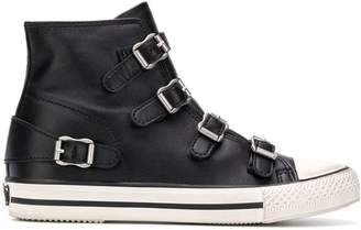Ash high-top trainers