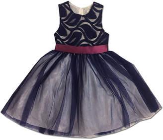 Joe Ella Embroidered Feather Dress