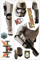 "Disney Star WarsTM ""The Force Awakens"" Storm Trooper Giant Peel and Stick Wall Decals"