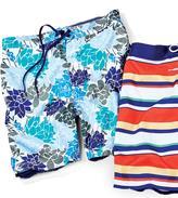 Dockers Men's Floral Print Swim Short