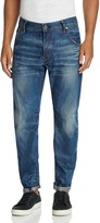 G Star G-STAR Attacc Slim Fit Jeans in Dark Aged