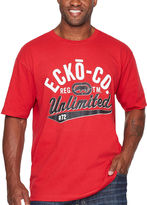 Ecko Unlimited Unltd. Short-Sleeve Victory Lap Rhino Cotton Tee- Big & Tall