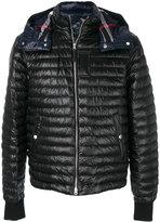 Burberry - hooded padded coat