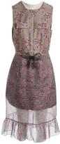 Christopher Kane Grey Silk Dress for Women