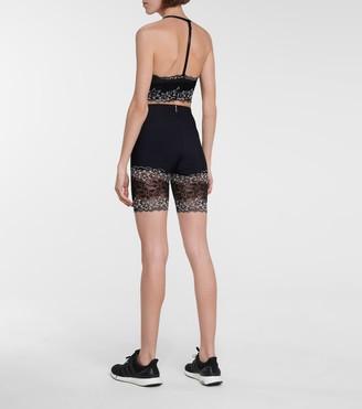 Adam Selman Sport Lace triangle sports bra