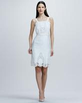 Rachel Roy Sleeveless Eyelet Lace Dress