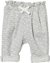 Gap Light Grey Jacquard Dot Pants