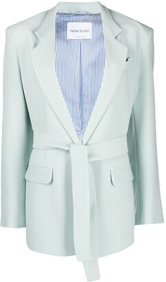 Hebe Studio The Lover single-breasted blazer