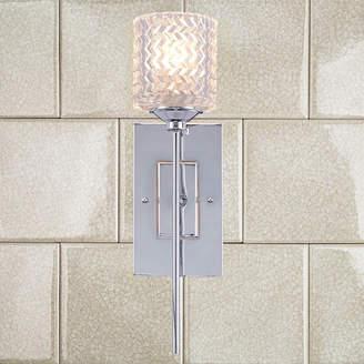 Vanity Art Modern Crystal Cut High Wall Sconce