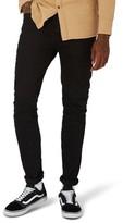 Topman Men's Overdyed Stretch Skinny Jeans