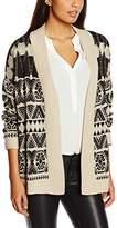 School Rag Women's GOSSIP Aztec V-Neck Long Sleeve Cardigan