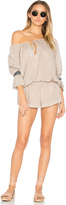 One Teaspoon The Rose Hill Muslin Romper