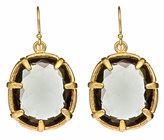 Black Diamond Pendant Earrings