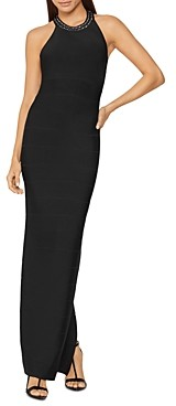 Herve Leger Embellished Evening Gown
