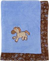 Trend Lab TREND LAB, LLC Cowboy Receiving Blanket