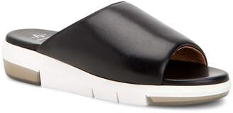 Aquatalia Sharla Water Resistant Platform Slide Sandal