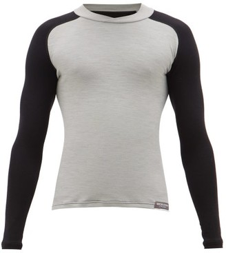 Café Du Cycliste Fast-drying Jersey Base-layer Top - Mens - Grey