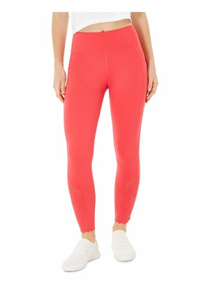 Ideology Womens Coral Cut Out Leggings Size: XL