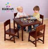 Kid Kraft Farmhouse Table and Chair Set - Pecan