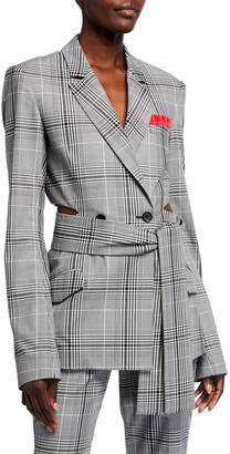 Hellessy Hambro Plaid Jacket
