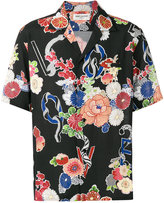 Saint Laurent floral print shirt - men - Viscose - 40