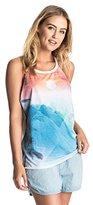 Roxy Women's Surfwise Tank Endless Sunny Da Screen T-Shirt