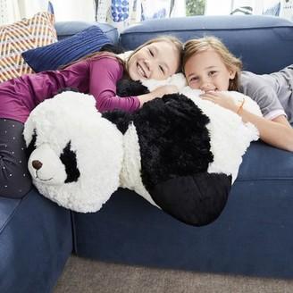 Pillow Pets Jumboz Comfy Panda Over-sized Plush Floor Pillow