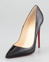 Christian Louboutin So Kate Patent Red Sole Pump, Black