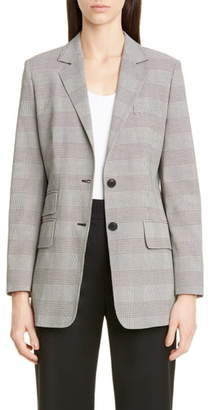Max Mara Angelo Glen Plaid Cotton Jacket