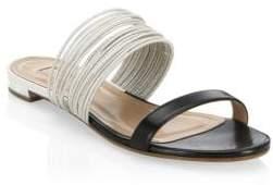 Aquazzura Rendezvous Flat Sandals