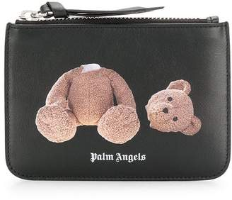 Palm Angels logo wallet
