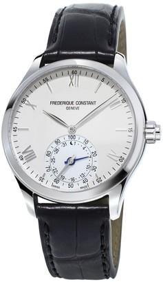 Frederique Constant Horological Swiss-Quartz 5ATM Stainless Steel Smart Watch