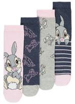 Disney George 4 Pack Thumper Socks