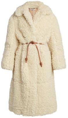 Stella McCartney Faux-Shearling Runway Coat