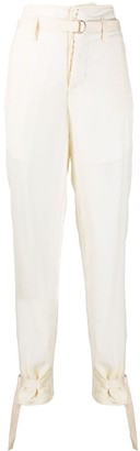 Unravel Project Milena high-waisted trousers