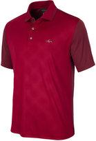 Greg Norman For Tasso Elba Men's Diamond-Embossed Golf Polo, Only at Macy's
