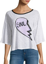 Honey Punch Jersey Knit Soul Graphic T-Shirt