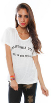 LnA California Girls Tee in White