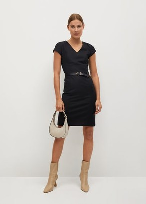 MANGO Tailored short dress