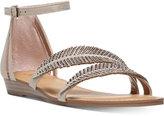 Carlos by Carlos Santana Tempo Embellished Flat Sandals