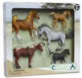 NEW CollectA Horse Life Set 5pce