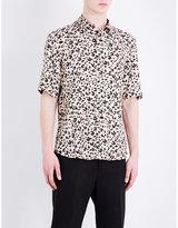 Mcq Alexander Mcqueen Regular-fit Leopard-print Jersey Shirt