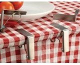 rsvp Endurance Stainless Steel Table Cloth Clip, Set of 4